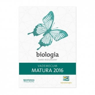 Vademecum. Matura 2016. Biologia. - okładka podręcznika