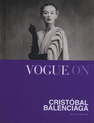 Vogue on Cristobal Balenciaga - okładka książki