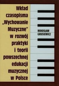 Wkład czasopisma Wychowanie muzyczne - okładka książki