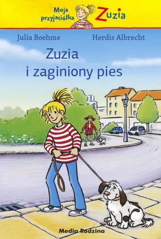 Zuzia i zaginiony pies - okładka książki