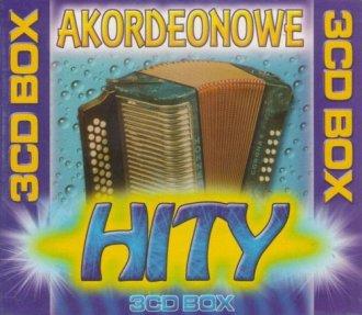 Akordeonowe hity (3 CD) - okładka płyty