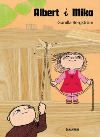 Albert i Mika - okładka książki