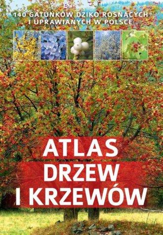 Atlas drzew i krzewów - okładka książki