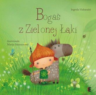 Bogaś z zielonej łąki - okładka książki