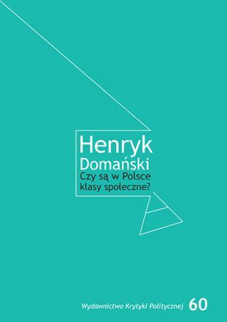 Czy są w Polsce klasy społeczne? - okładka książki