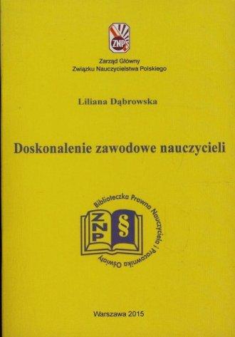 Doskonalenie zawodowe nauczycieli - okładka książki