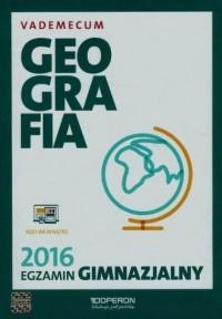 Egzamin gimnazjalny 2016. Geografia. - okładka podręcznika
