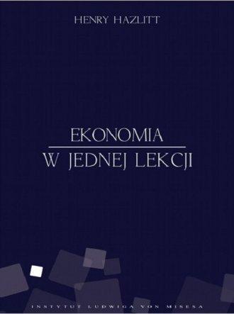 Ekonomia w jednej lekcji - okładka książki