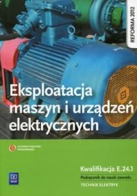 Eksploatacja maszyn i urządzeń - okładka podręcznika