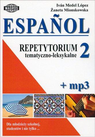 Espanol. Repetytorium tematyczno-leksykalne - okładka podręcznika