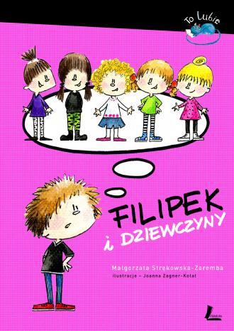 Filipek i dziewczyny - okładka książki