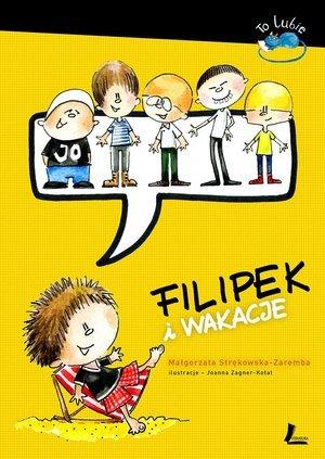 Filipek i wakacje - okładka książki