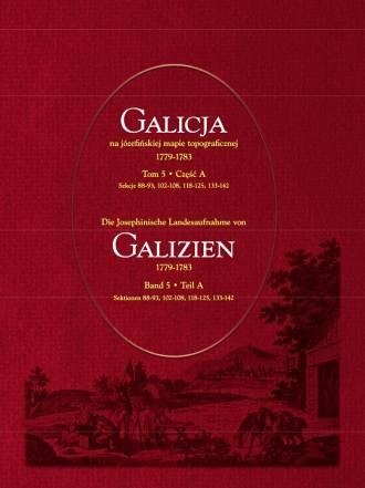 Galicja na józefińskiej mapie topograficznej - okładka książki