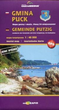 Gmina Puck mapa turystyczna (skala 1:40 000) - okładka książki
