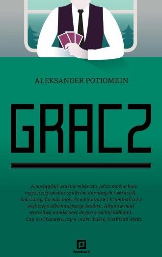 Gracz - okładka książki