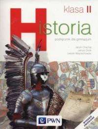 Historia. Klasa 2. Gimnazjum. Podręcznik - okładka podręcznika