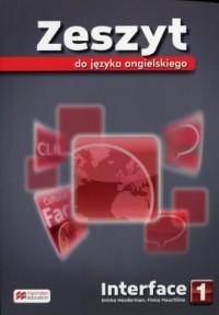 Interface 1. Gimnazjum. Zeszyt - okładka podręcznika