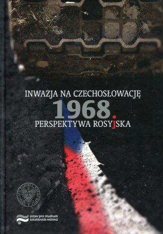 Inwazja na Czechosłowację 1968. - okładka książki