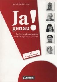 Ja genau! Deutsch als Fremdsprache - okładka podręcznika