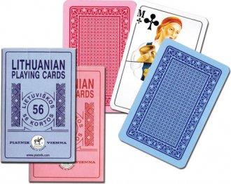 Karty Litewskie (1 talia) - zdjęcie zabawki, gry
