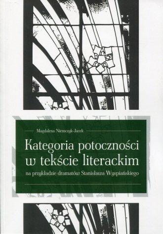 Kategoria potoczności w tekście - okładka książki