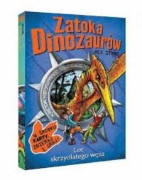 Lot skrzydlatego węża. Zatoka Dinozaurów - okładka książki