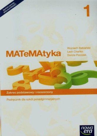 Matematyka 1. Szkoła ponadgimnazjalna. - okładka podręcznika