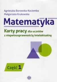 Matematyka. Karty pracy dla uczniów - okładka podręcznika