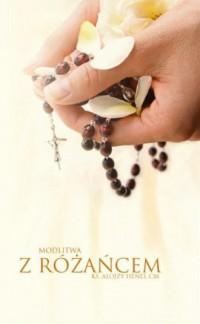 Modlitwa z różańcem - okładka książki