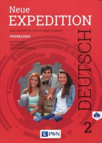Neue Expedition. Deutsch 2. Szkoła ponadgimnazjalna. Podręcznik - okładka podręcznika