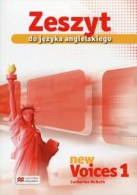 New Voices 1. Gimnazjum. Zeszyt - okładka podręcznika