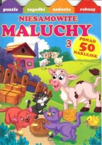 Niesamowite maluchy 3 (+ naklejki) - okładka książki
