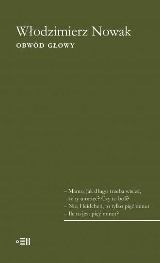 Obwód głowy - okładka książki