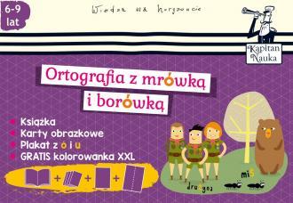 Ortografia z mrówką i borówką. - okładka książki