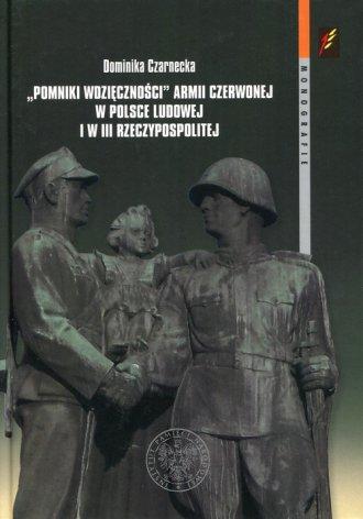 Pomniki wdzięczności Armii Czerwonej - okładka książki