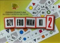 Szyfrowanki 2. Zabawa edukacyjna dla dzieci uczących się czytać - zdjęcie zabawki, gry
