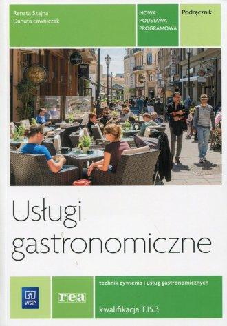 Usługi gastronomiczne. Podręcznik. - okładka podręcznika