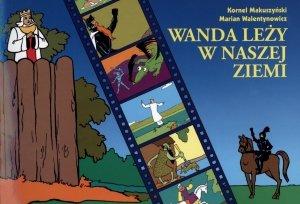 Wanda leży w naszej ziemi - okładka książki