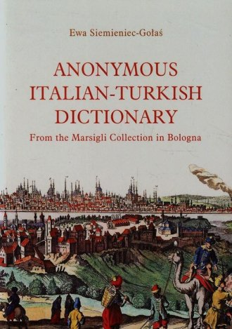 Anonymous Italian-Turkish Dictionary. - okładka książki