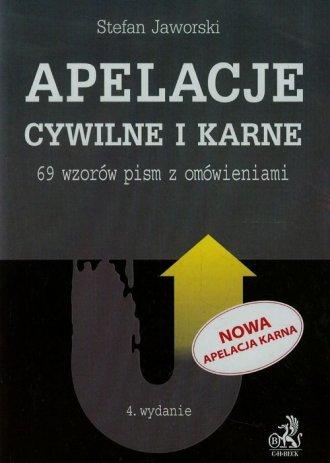Apelacje cywilne i karne. 69 wzorów - okładka książki