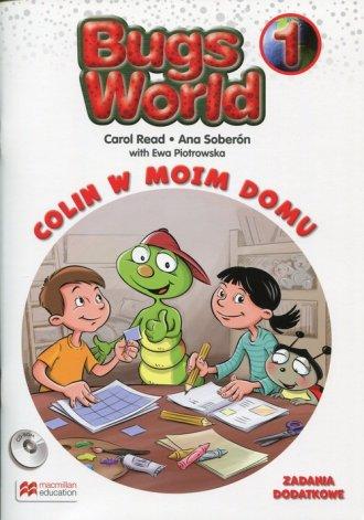 Bugs World 1. Szkoła podstawowa. - okładka podręcznika
