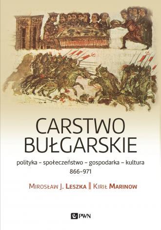 Carstwo bułgarskie. Polityka - - okładka książki