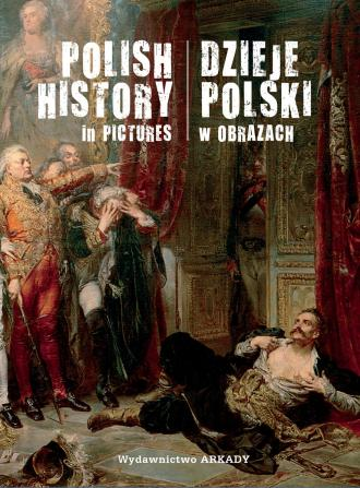Dzieje Polski w obrazach - okładka książki