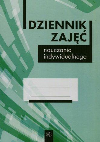 Dziennik zajęć nauczania indywidualnego - okładka książki