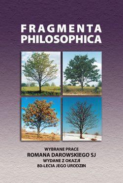 Fragmenta philosophica - okładka książki