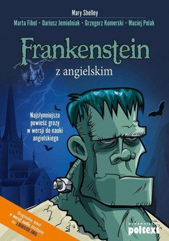 Frankenstein z angielskim. Najsłynniejsza - okładka książki