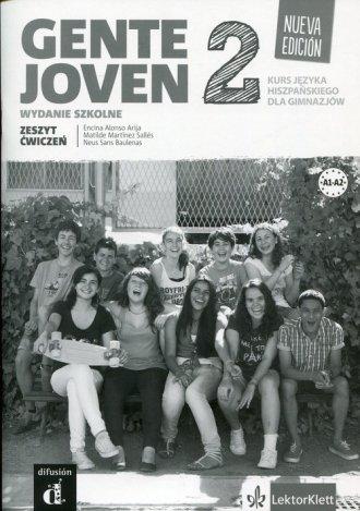 Gente Joven 2. Zeszyt ćwiczeń. - okładka podręcznika