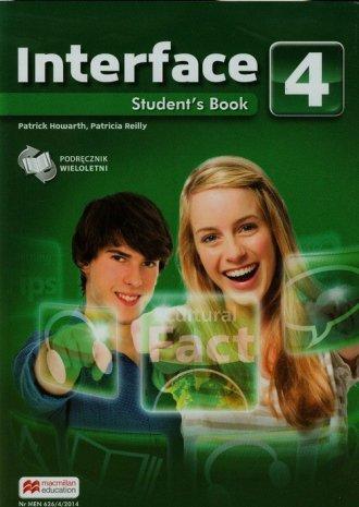Interface 4. Podręcznik wieloletni. - okładka podręcznika
