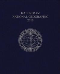 Kalendarz National Geographic 2016 (granatowy) - okładka książki