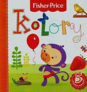 Kolory. Fisher Price - okładka książki